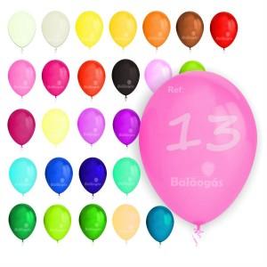 """100 Balões Pastel 5""""/13cm"""