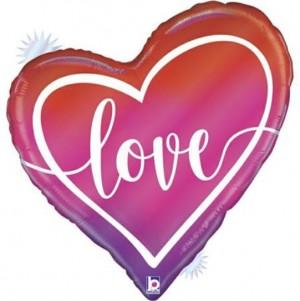 Balão Ombre Love 89cm Grabo