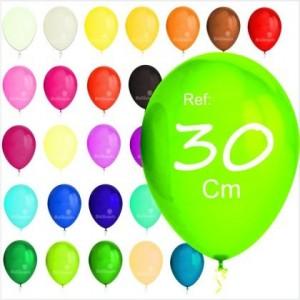 """100 Balões Pastel 11"""" 30cm"""