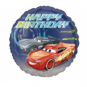 Balão Foil Cars 43cm 3536601