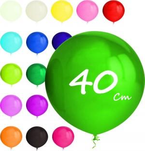 10 Balões Esféricos 40cm