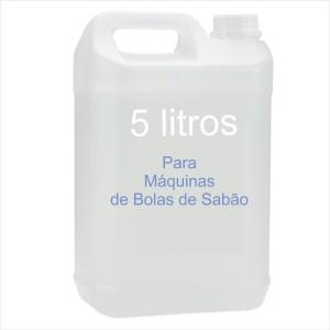 5 Litros liquido de Bolas Sabão Alta Qualidade