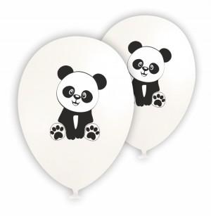 10 Balões latex Panda