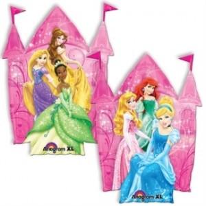 Balão Foil Castelo Princesa 75x75cm