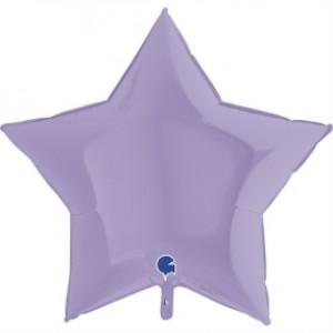 Balão Estrela Mate 46cm Lilas