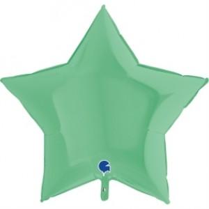 Balão Estrela Mate 46cm Verde