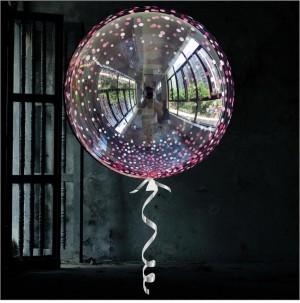 """Bubble Confetti Rosa 18""""45cm"""