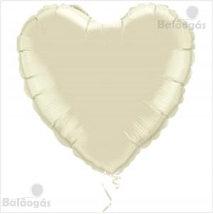 Coração Foil 45cm Prateado