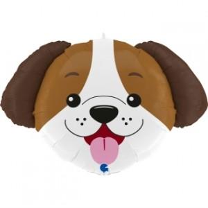 Balão Cabeça Cão 84cm