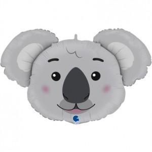 Balão Cabeça Koala 94cm
