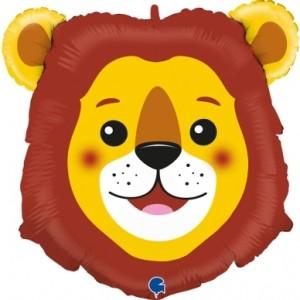 Balão Grabo Cabeça Leão 74cm