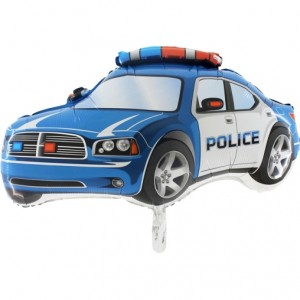 Balão Carro Da Policia 78cm Grabo