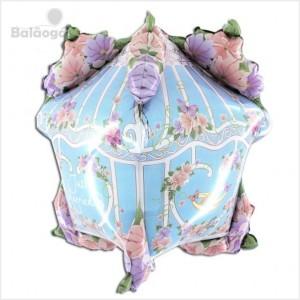 Balão Foil Casa do Amor 4D 86cm R.74010