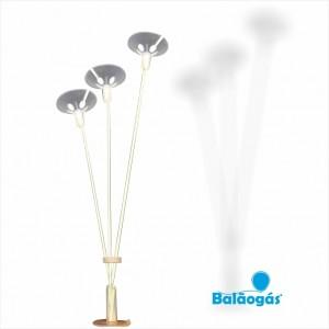 Suporte 3 Balões para decorações Altura 65cm