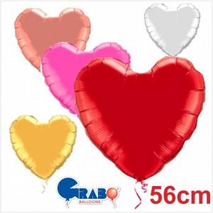 """Coração Foil Grabo 22""""/56cm"""