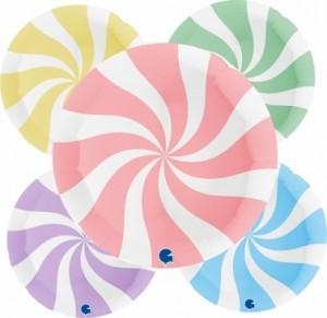 "Balão Espiral MATTE Grabo 36""/91cm"