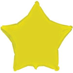 Estrela Foil 45cm Amarela
