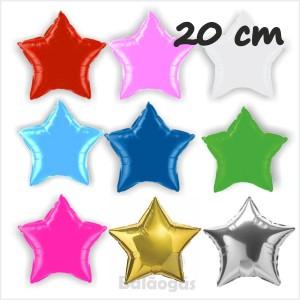 Estrelas Foil 20cm