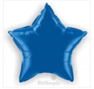Estrela Foil 40cm Azul