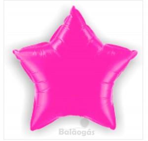 Estrela Foil 40cm Fuchia