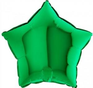 Estrela Foil 40cm Verde