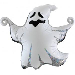 Balão Fantasma Halloween Foil 43cm