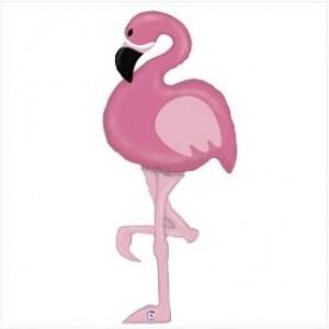 Balão Flamingo Gigante 154cm