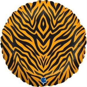 Balão Foil Mancha Tigre 46cm Grabo