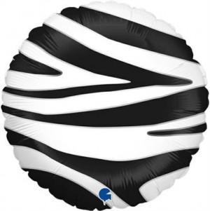 Balão Foil Mancha Zebra 46cm Grabo