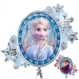 Balão Frozen Moldura 76x66cm