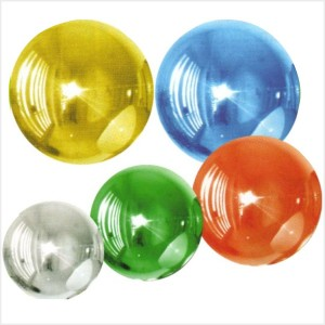 "Balão orbz ""Globo"" Foil 40cm"