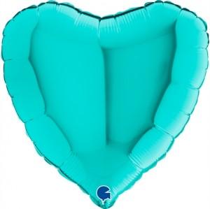 Coração Foil 45cm Tiffany Grabo