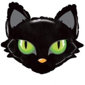 Balão Grabo foil Cabeça Gato 70cm