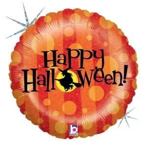 Balão foil Happy Halloween! 91cm