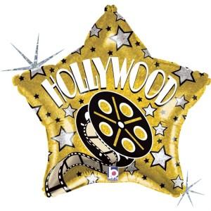 Balão Estrela Hollywood 48cm Grabo