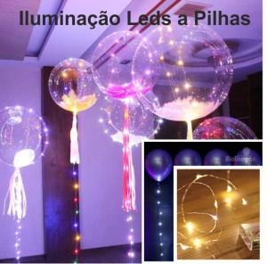 Iluminação 3 Metros a Pilhas Para Balões