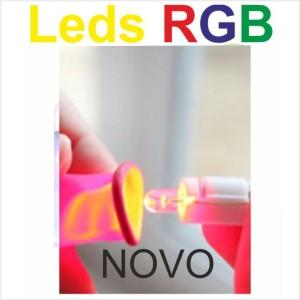 Leds RGB mudam de cor
