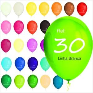"100 Balões Pastel 11"" 30cm ( Low Cost )"