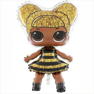 """Balão Foil 37"""" LOL Surprise Queen Bee"""