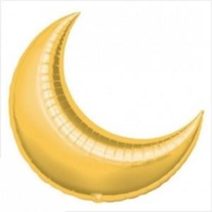 Lua Gigante 90cm Dourada Grabo