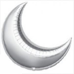 Lua Gigante 90cm Prateada Grabo