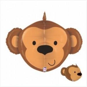 Balão 3D Macaco 69cm