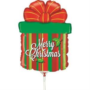 """Mini Balão Prenda Natal 14""""/35Cm Grabo"""