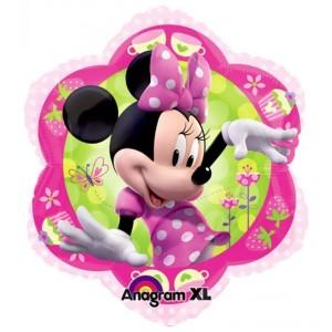 Balão Minnie Flor 35x38cm