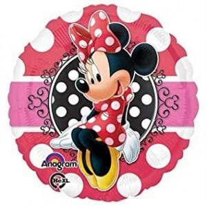 Balão foil Minnie 43cm R: 30647