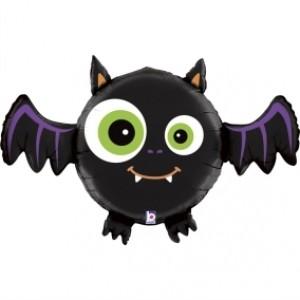 Balão Morcego 3D Foil 71cm