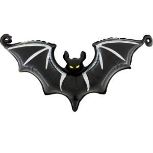 Balão Morcego Halloween Foil 63cm Grabo