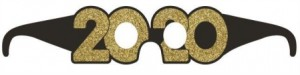 Oculos 2020 Passagem Ano em Cartão