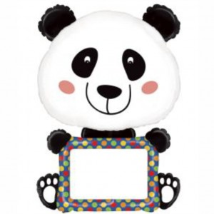 Balão Panda Com Marcador 122cm