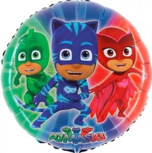 Balão PJ Masks Redondo 60cm